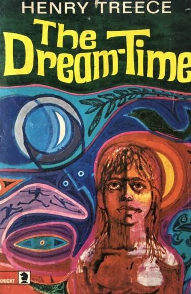 Charles Keeping's cover design for Henry Treece's The Dreamtime was based partly on drawings by the author
