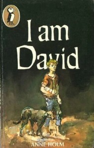 Cover of Anne Holm's classic children's book, I Am David