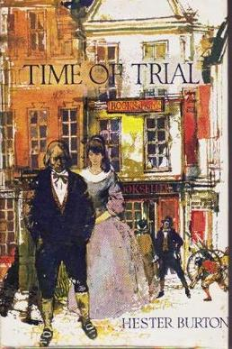 Cover of Hester Burton's Time of Trial, winner of the Carnegie Medal in 1963